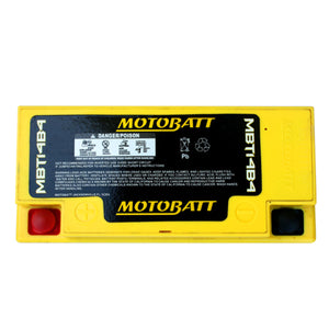 MBT14B4 Motobatt 12V AGM Battery