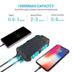 RENOGY E.POWER 10000MAH PORTABLE SOLAR CHARGER