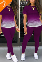 Load image into Gallery viewer, (MOTHER'S DAY BUY 2 GET 10% OFF&Free Shipping)Casual Sport Gradual Change Pants Set