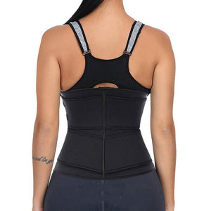 50% OFF,Women Waist Trainer Corset Sweat  Faja Sport Girdle Slimming Shaper