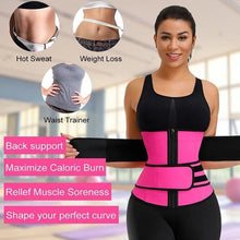 Load image into Gallery viewer, 50% OFF,Women Waist Trainer Corset Sweat  Faja Sport Girdle Slimming Shaper