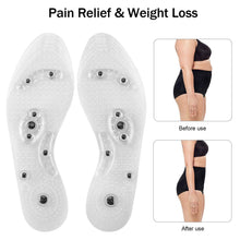 Load image into Gallery viewer, Insoles for Women & Men Cuttable Acupressure Magnetic Massage
