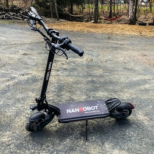 "NANROBOT ELECTRIC SCOOTER D6+ 10""-2000W-52V 26Ah"