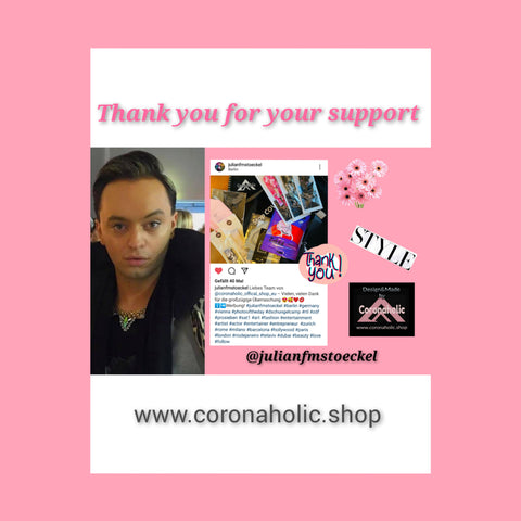 Thank you for your support Miss Julian FM Stöckel