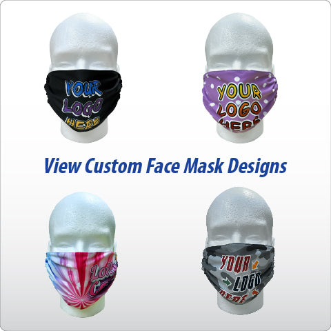 View Custom Face Mask Designs