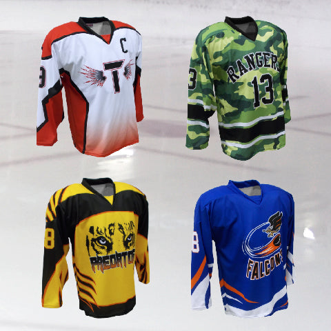 Sublimation Hockey Jersey Examples