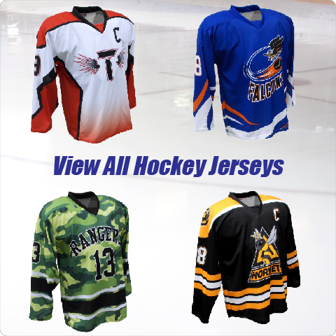 View All Hockey Jerseys & Hockey Uniforms
