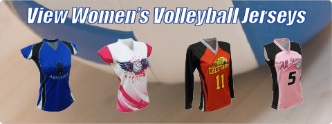 View Women's Volleyball Jersey Designs