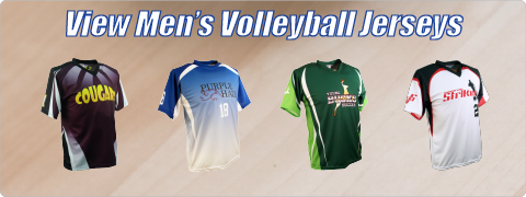 View Men's Volleyball Jersey Designs