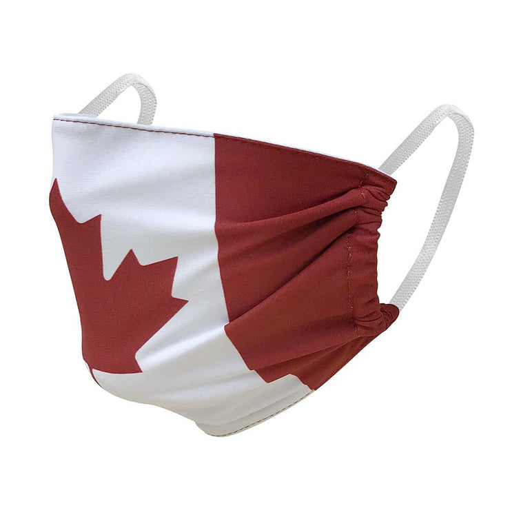 CMS 1001 - Youth and Kids Face Mask - Canada Flag