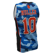 SBK 1075B - Men's Basketball Jersey - Back