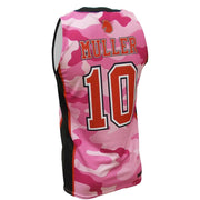 SBK 1075P - Men's Basketball Jersey - Back