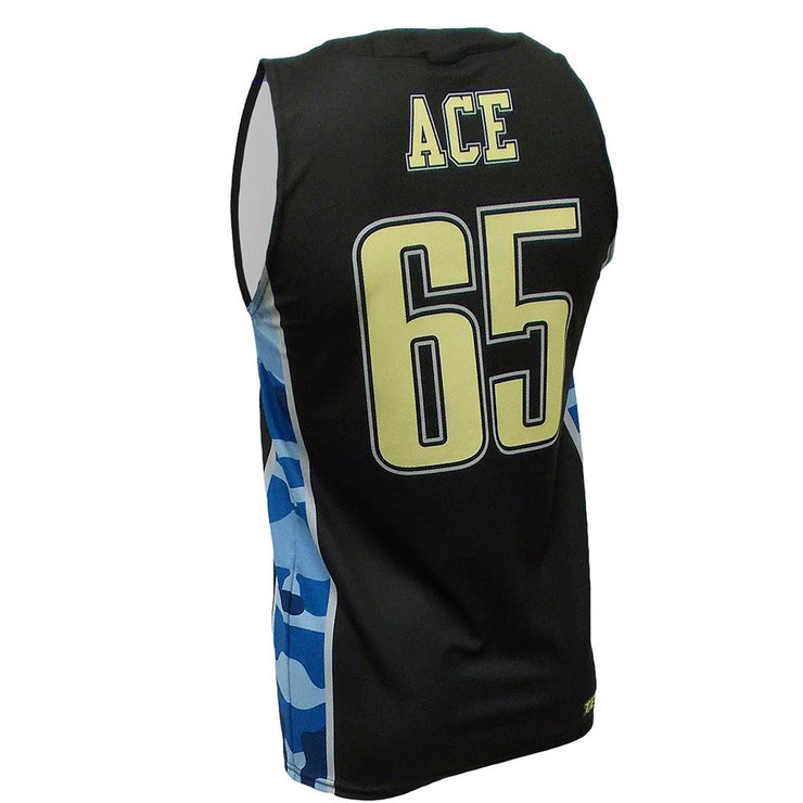 SBK 1085B - Men's Basketball Jersey - Back