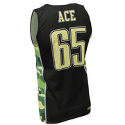 SBK 1085G - Men's Basketball Jersey - Back