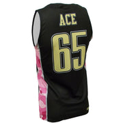 SBK 1085P - Men's Basketball Jersey - Back