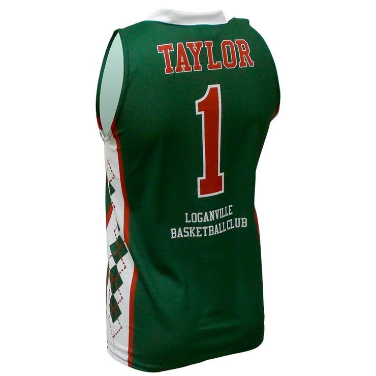 SBK 1095 - Men's Basketball Jersey - Back