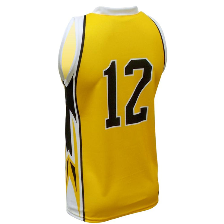 SBK 1099 - Men's Basketball Jersey - Back