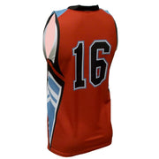 SBK 1101 - Men's Basketball Jersey - Back