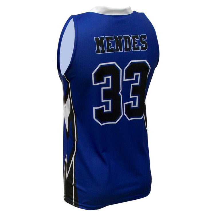 SBK 1103 - Men's Basketball Jersey - Back