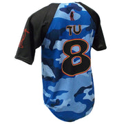 SBL 1015B - 2-Button Baseball Jersey - Back