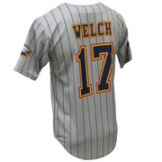 SBL 1016F - Full-Button Baseball Jersey - Back