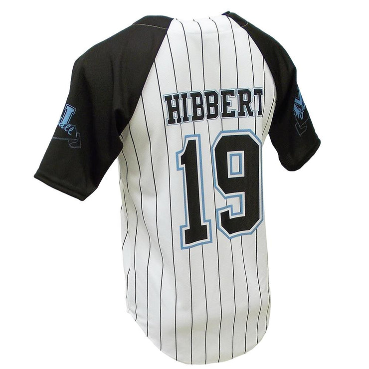 SBL 1017F - Full-Button Baseball Jersey - Back