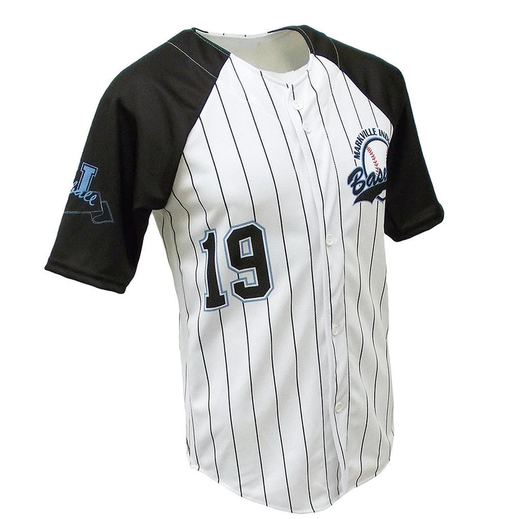 SBL 1017F - Full-Button Baseball Jersey