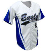 SBL 1018F - Full-Button Baseball Jersey