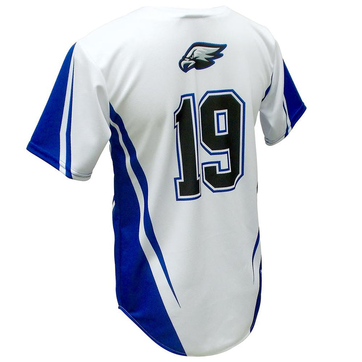 SBL 1018F - Full-Button Baseball Jersey - Back