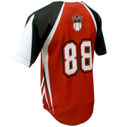 SBL 1021F - Full-Button Baseball Jersey - Back