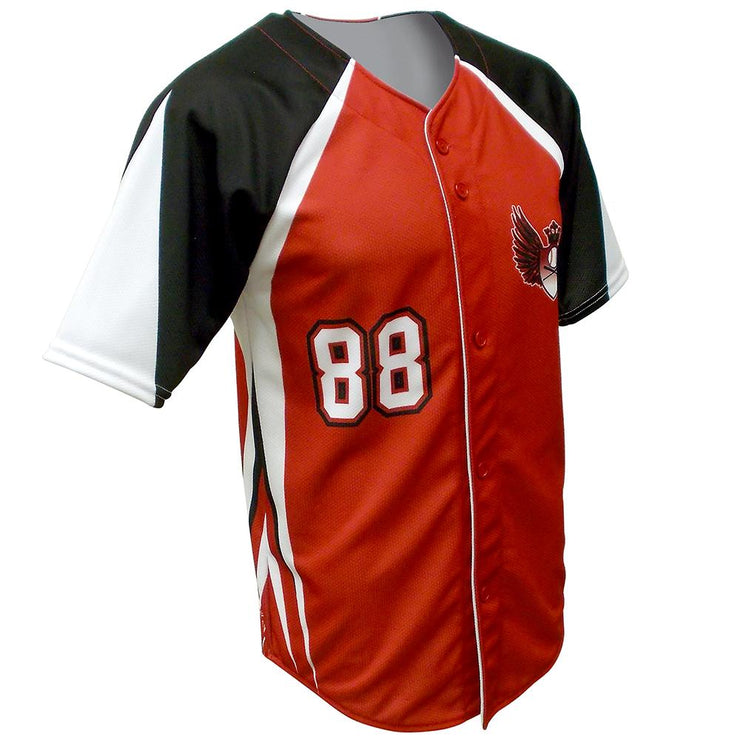SBL 1021F - Full-Button Baseball Jersey