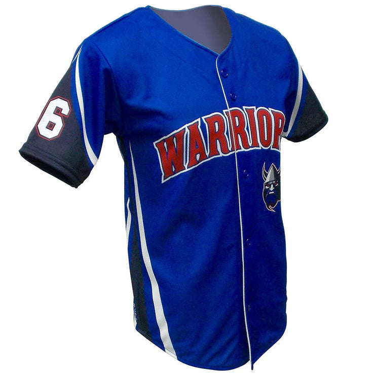 SBL 1023F - Full-Button Baseball Jersey
