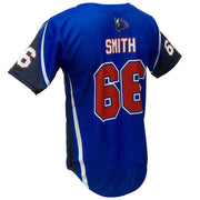 SBL 1023F - Full-Button Baseball Jersey - Back