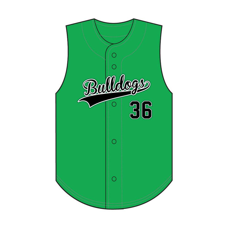 SBL 1024V - Full-Button Baseball Jersey