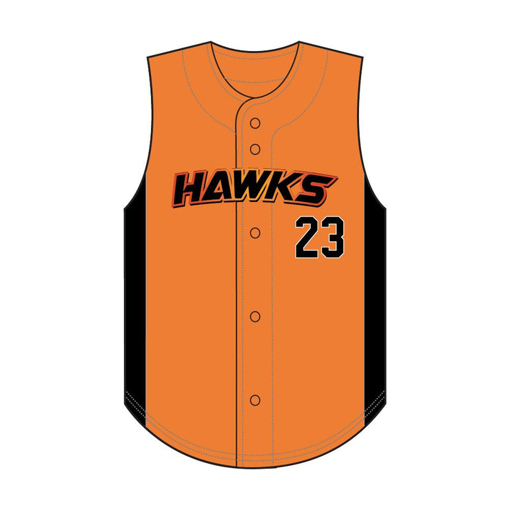 SBL 1025V - Full-Button Baseball Jersey