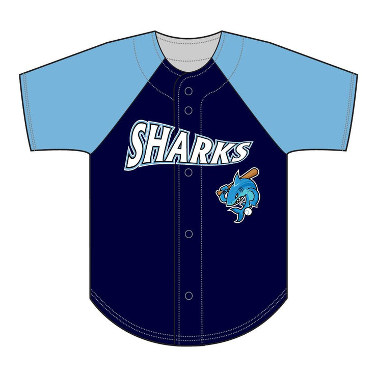 SBL 1028F - Full-Button Baseball Jersey