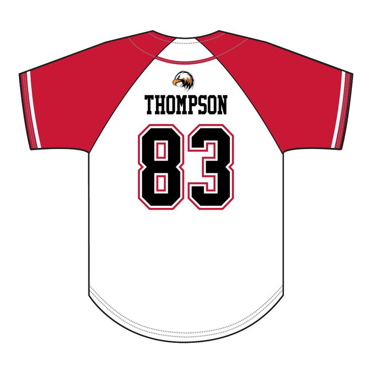 SBL 1033F - Full-Button Baseball Jersey - Back