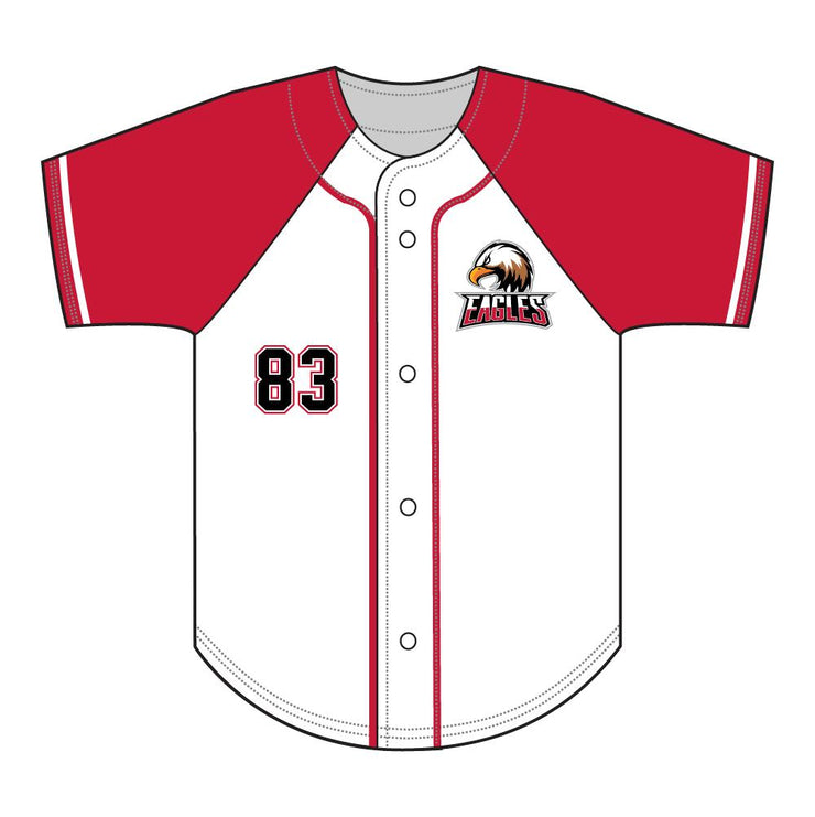 SBL 1033F - Full-Button Baseball Jersey