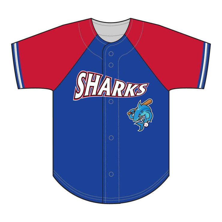 SBL 1034F - Full-Button Baseball Jersey