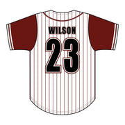 SBL 1036F - Full-Button Baseball Jersey - Back
