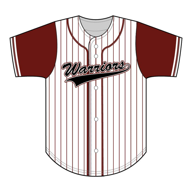 SBL 1036F - Full-Button Baseball Jersey