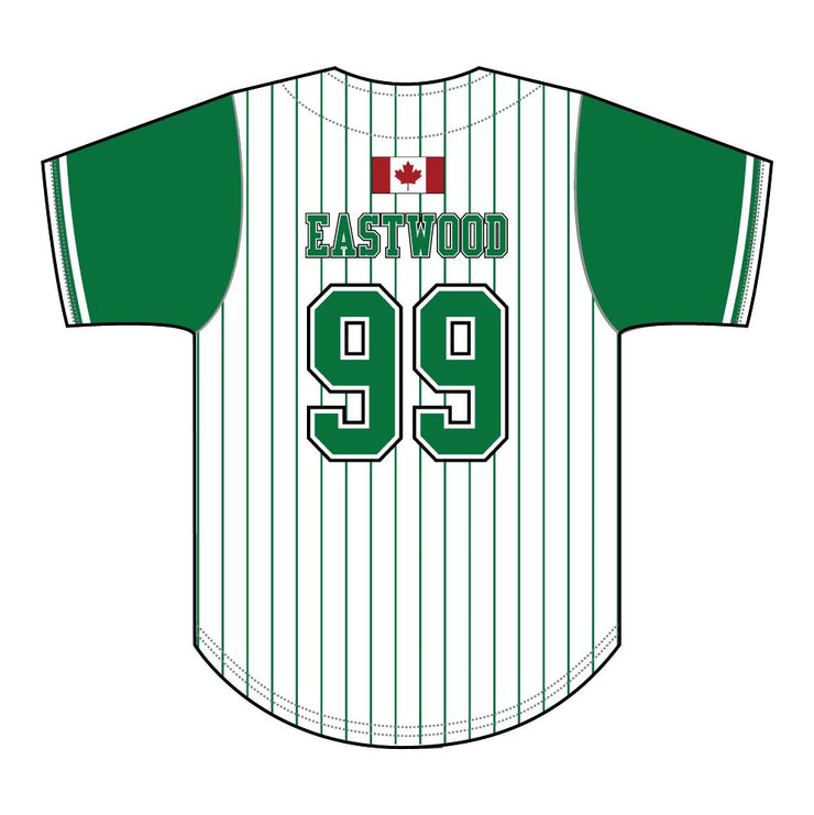 SBL 1042 - 2-Button Baseball Jersey - Back