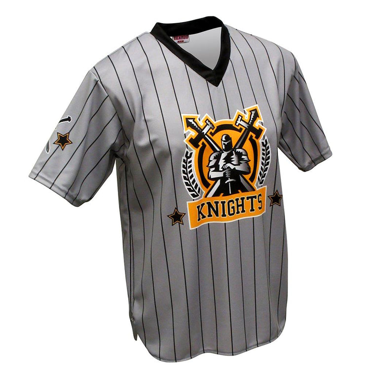 SBT 1004 - V-Neck Softball  Jersey