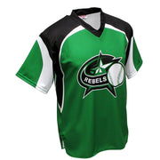 SBT 1008 - V-Neck Softball  Jersey