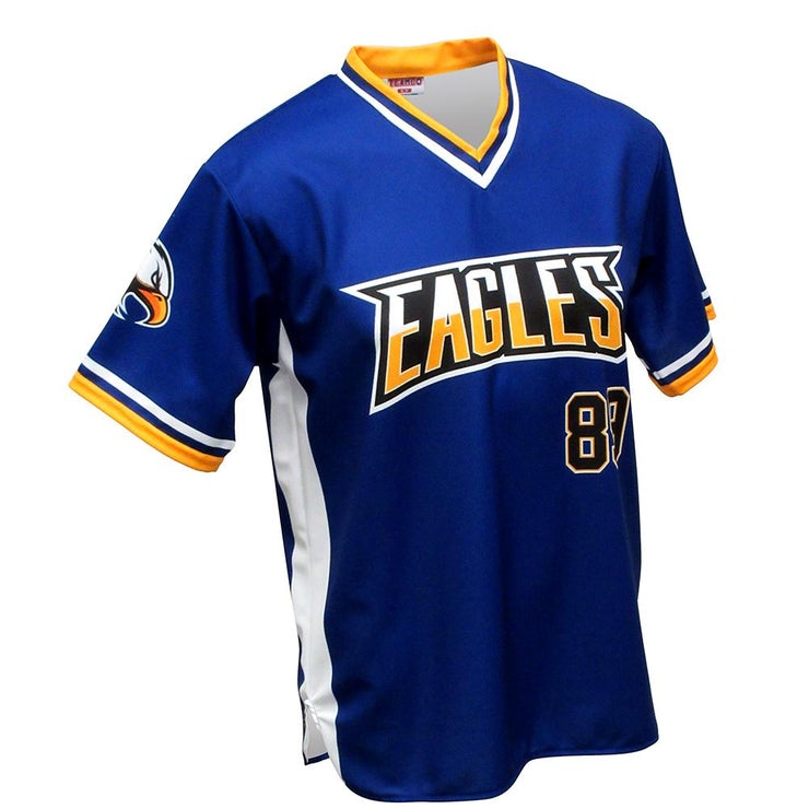 SBT 1013 - V-Neck Softball  Jersey
