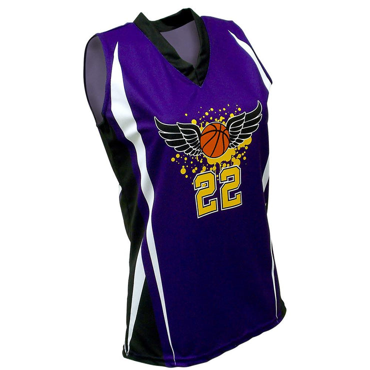 SBW 1001 - Women's Basketball Jersey