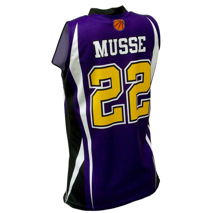 SBW 1001 - Women's Basketball Jersey - Back