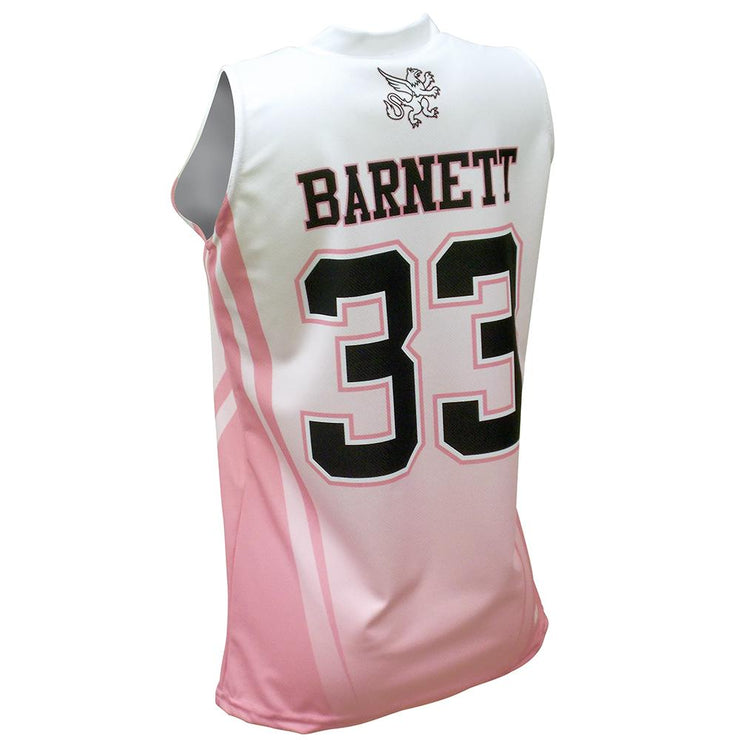 SBW 1005 - Women's Basketball Jersey - Back
