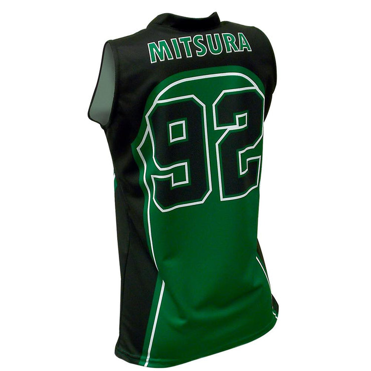 SBW 1011 - Women's Basketball Jersey - Back