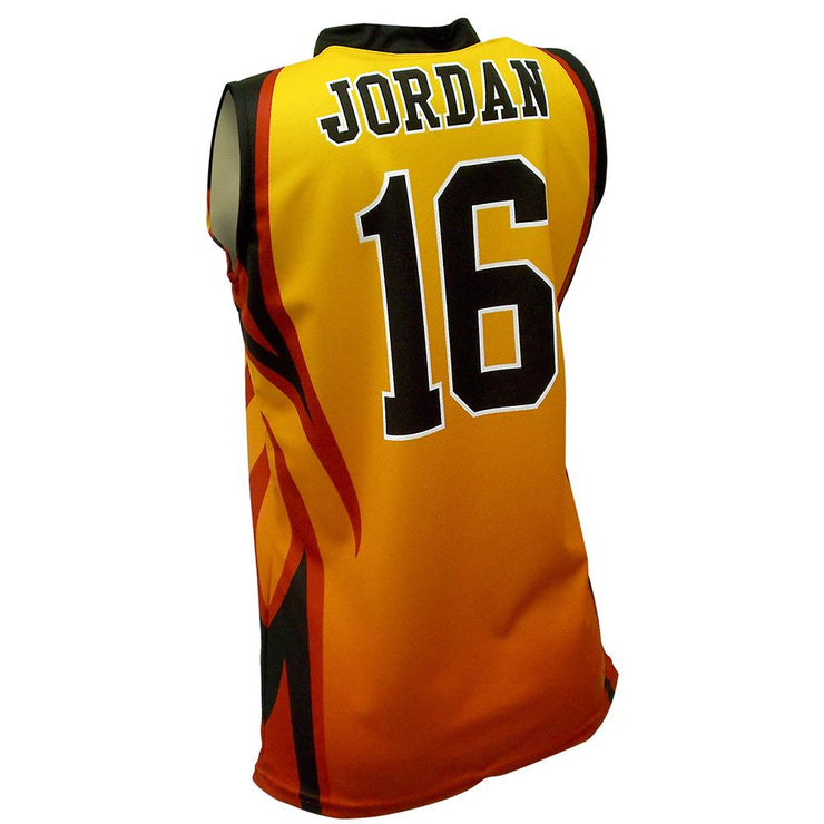 SBW 1019 - Women's Basketball Jersey - Back